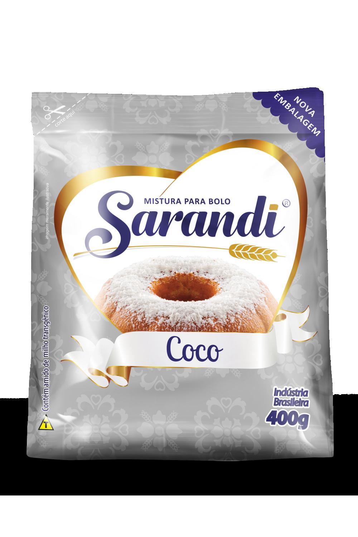 BOLO DE COCO 400g