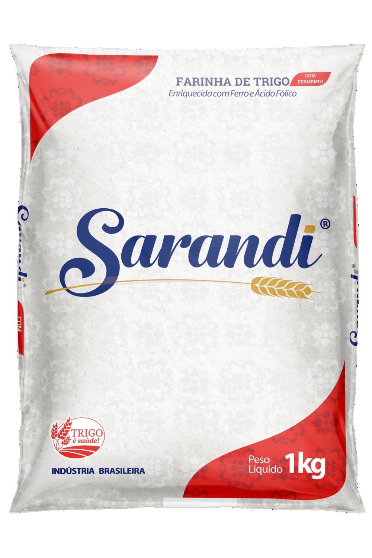 SARANDI COM FERMENTO 1kg