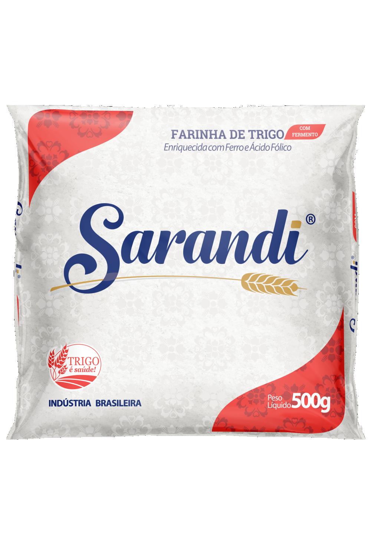 SARANDI COM FERMENTO 500g