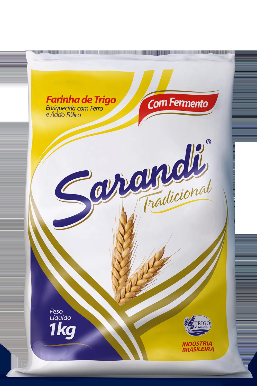 Farinha Sarandi com fermento 1kg